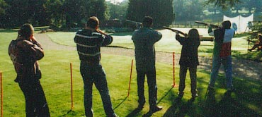 Laser Clay Pigeon Shooting